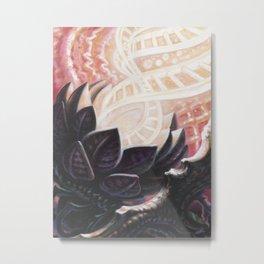 DNA Flower- Adam France Metal Print