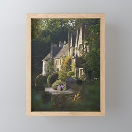 Not the manor Framed Mini Art Print