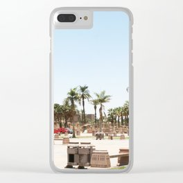 Temple of Luxor, no. 24 Clear iPhone Case
