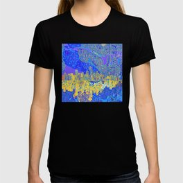 seattle city skyline T-shirt