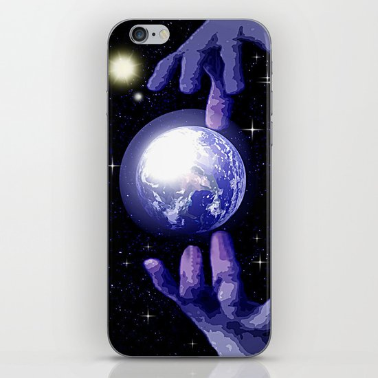 In good hands. iPhone & iPod Skin