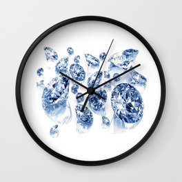 "Diamond Pulling Image...""The Secret"" If you see again and again, you can get it. Wall Clock"
