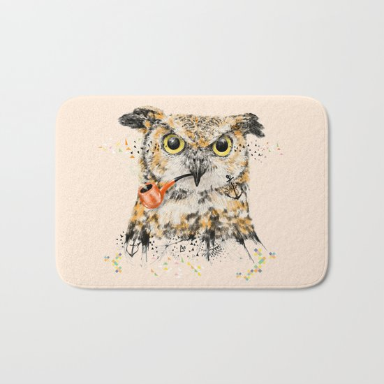 Mr.Owl II Bath Mat