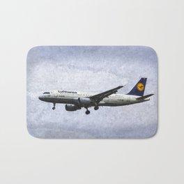 Lufthansa Airbus A320 Art Bath Mat