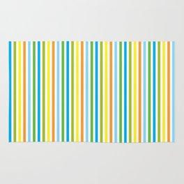 Colourful Pinstripes Rug