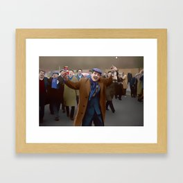 Every other Saturday Framed Art Print