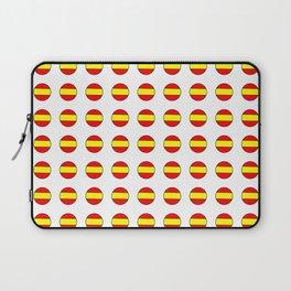 Flag of spain 13-spain,espana, spanish,plus ultra,espanol,Castellano,Madrid,Barcelona Laptop Sleeve