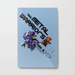 Metal Warriors Metal Print