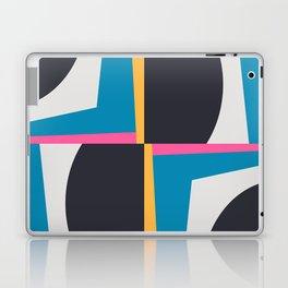 Modern Geometric 65 Blue Laptop & iPad Skin