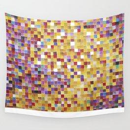 Pixellove - Fluß des Lebens Wall Tapestry