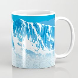 Mt. Alyeska Alaska Coffee Mug