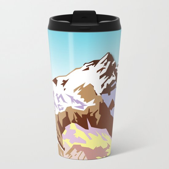 Night Mountains No. 49 Metal Travel Mug