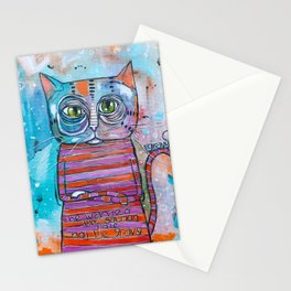 The Sass Cat Stationery Cards