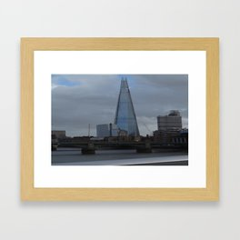 Chard of Glass Framed Art Print