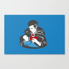 The Curious Case of a Baby Vampire Canvas Print