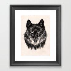 Moon Eyes Framed Art Print