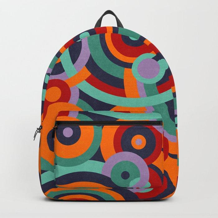 Colorful circles II Backpack