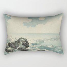 Kojima Zu - Waves Rectangular Pillow