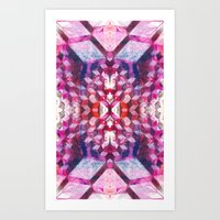 Art Print featuring Border 2 S Pattern 3 by Cie Ja