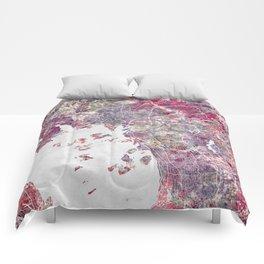 Oslo Map Comforters