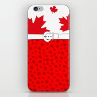 canada iPhone & iPod Skins featuring Canada by ts55