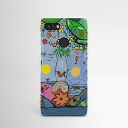 Man on a hamac Android Case