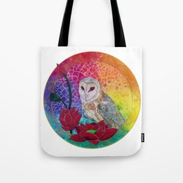 Lakshmi's Vahana ( Bird Whisperer Project Owl ) Tote Bag