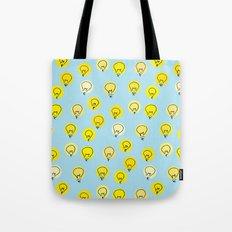 Lightbulb moment Tote Bag