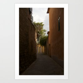 Streets of Italy Art Print