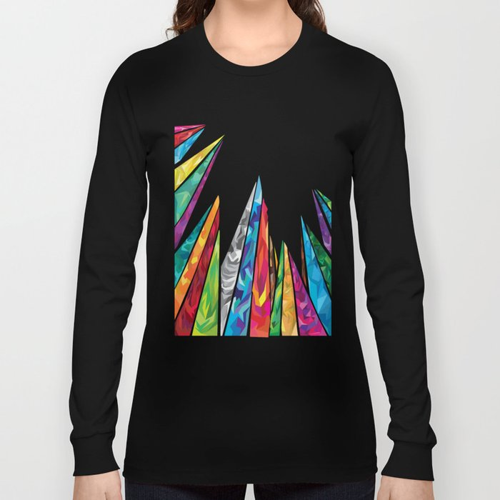 Up to the mountains Long Sleeve T-shirt