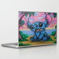 stitch Laptop & iPad Skins featuring Stitch by spiderdave7