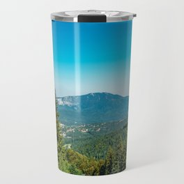 Mountains Landscape, Travel, Summer Landscape, Transylvania Mountains, Forests Of Romania Travel Mug