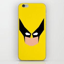 Wolverin e superhero iPhone Skin