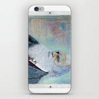 darwin iPhone & iPod Skins featuring Charles Darwin by Michael Cu Fua