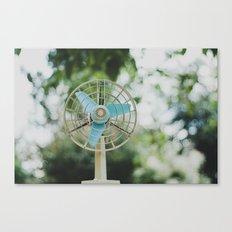 Vintage Fan Canvas Print
