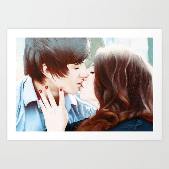True Love's Kiss Art Print