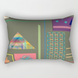Resolution: Clean Out The Attic Rectangular Pillow