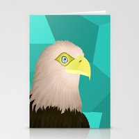eagle Stationery Cards featuring Eagle by Nir P