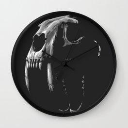 Saber Tooth Tiger Wall Clock