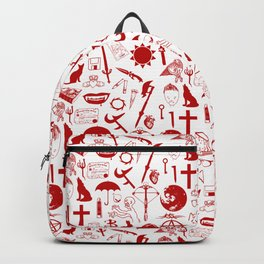 Buffy Symbology, Red Backpack