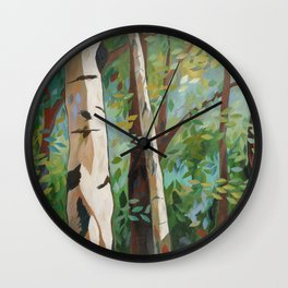 Discover Peace Wall Clock