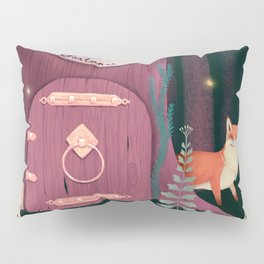 Sorcerer Of Woodland Charms Potions Spells And Fortunes Pillow Sham