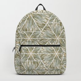 Ethnic ikat pattern. 3 Backpack