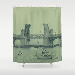 Drawbridge  Shower Curtain