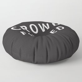 Crowd Funded Floor Pillow
