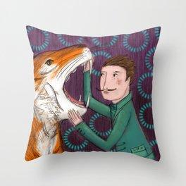 Der Tiger Throw Pillow