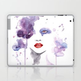 Red Eyes Red Lips two Laptop & iPad Skin