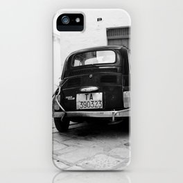 Time travel in Martina Franca iPhone Case