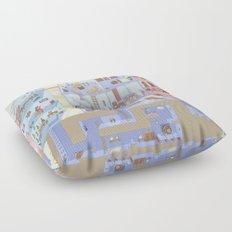 Village Homes Maze Floor Pillow