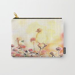 Little Gold Finch Carry-All Pouch